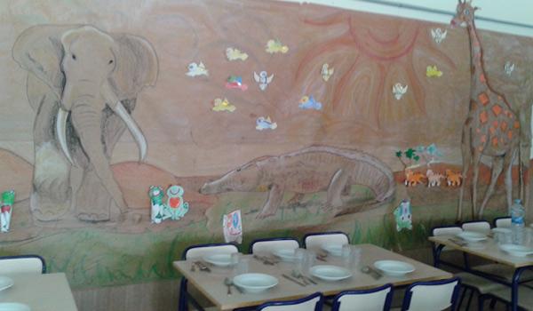 Comedores escolares INTUR, fiestas de fin de curso