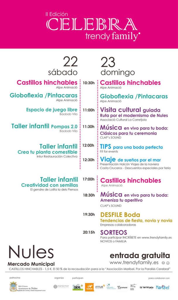 feria celebra by trendy family, taller infantil de intur restauracion colectiva