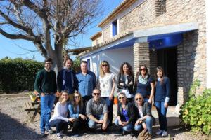 El equipo de Intur Crec3r visita el Molino de Héctor Molina