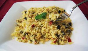 Receta cuscús con verduras