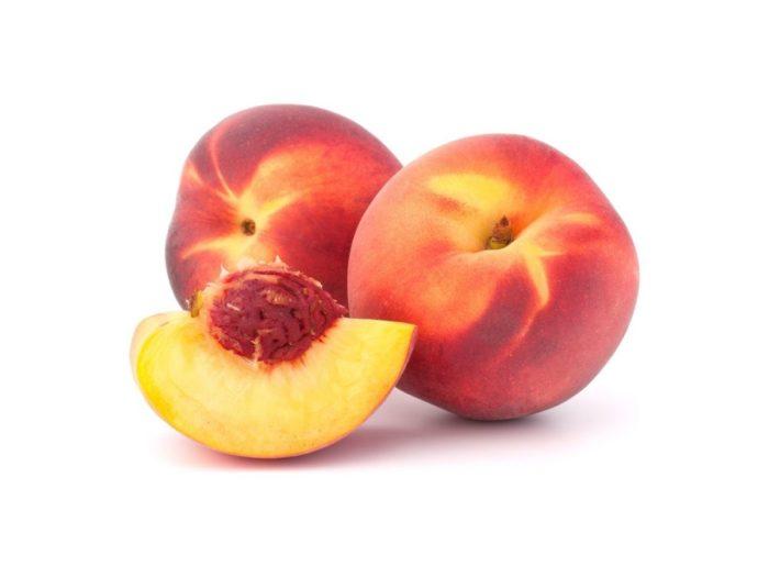 melocoton rojo fruta hidratante verano