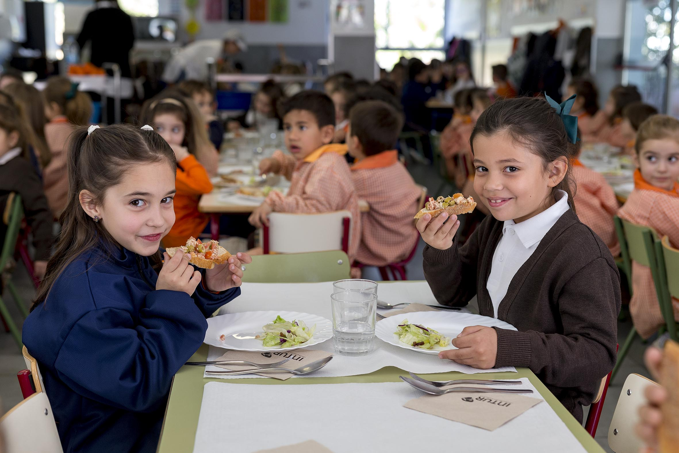 comedores escolares saludables
